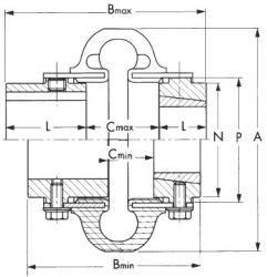 E60M Rexnord Omega Element
