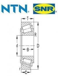 EC42229U01/43082S01H206  SNR